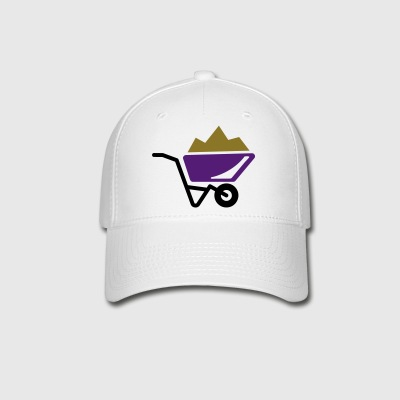 wheelbarrow - sand - Baseball Cap