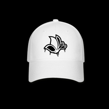 graffiti butterfly - Baseball Cap