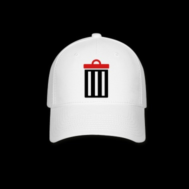 Garbage bin for trash - Baseball Cap