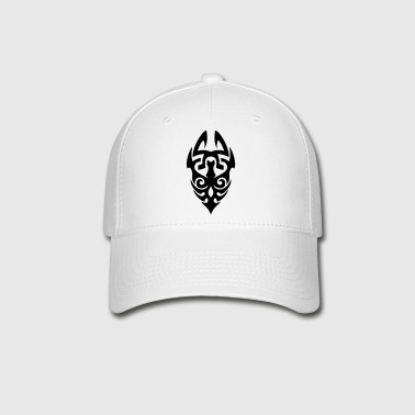 TRIBAL TATTOO MASK - Baseball Cap