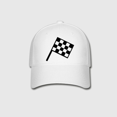 flag - car race - Baseball Cap