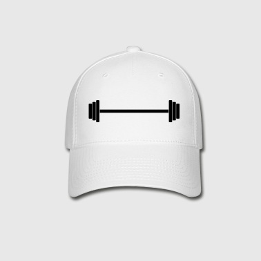 Gym Dumbbell (long) Barbell Weight Athletics 1c - Baseball Cap