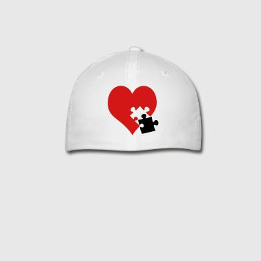 lovesickness / red heart - Baseball Cap