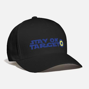 Computer Centre STAY ON TARGET star centre awesome! - Baseball Cap