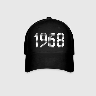 1968, Numbers, Year, Year Of Birth - Baseball Cap