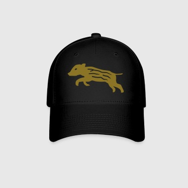 wild boar pig piglet baby youngster hog hunter hunting - Baseball Cap