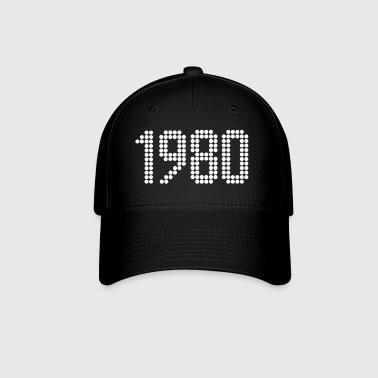 1980, Numbers, Year, Year Of Birth - Baseball Cap