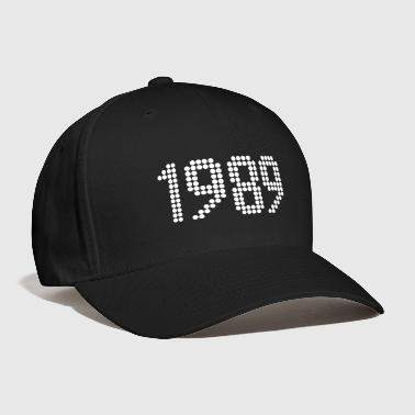 1989, Numbers, Year, Year Of Birth - Baseball Cap