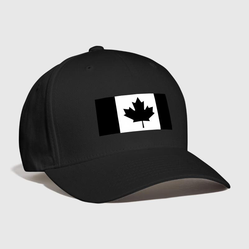 Canadian Flag Subdued black - Baseball Cap