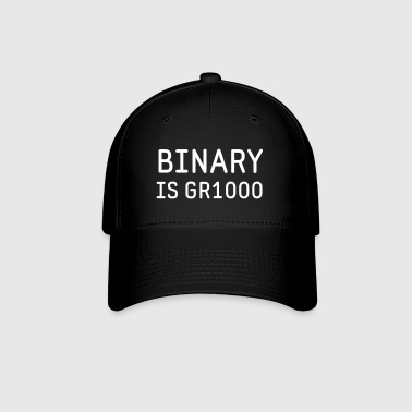 Binary is Great (GR8) Math Humor - Baseball Cap