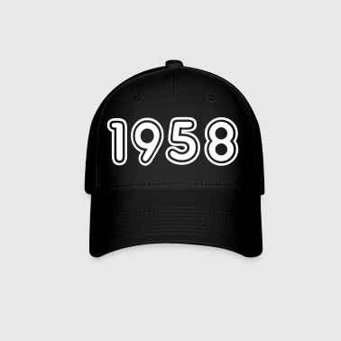 1958, Numbers, Year, Year Of Birth - Baseball Cap