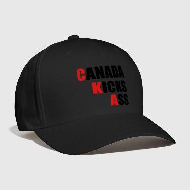 Canada Kicks Ass Vertical - Baseball Cap