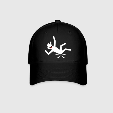 Stickman Down-1 small image - Baseball Cap