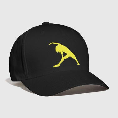 child woman stretching fitness exercise - Baseball Cap