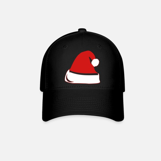 Christmas Caps - Santa Hat - Baseball Cap black