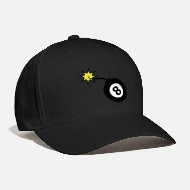 Explotion bomb8_3c_us - Baseball Cap