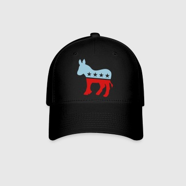 Democrat Donkey TWO COLOR - Baseball Cap