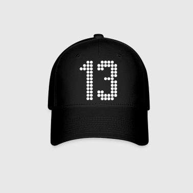 13, Numbers, Football Numbers, Jersey Numbers - Baseball Cap