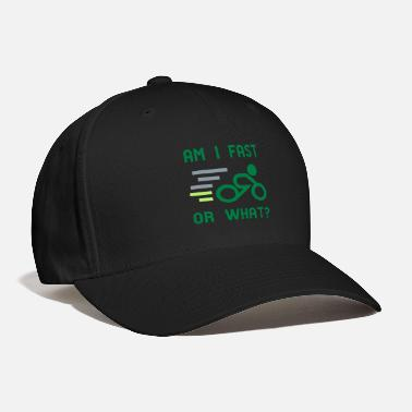Cycling Am I fast, or what? - active wear for cycling - Baseball Cap