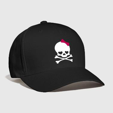 Small Girl Skull - Baseball Cap