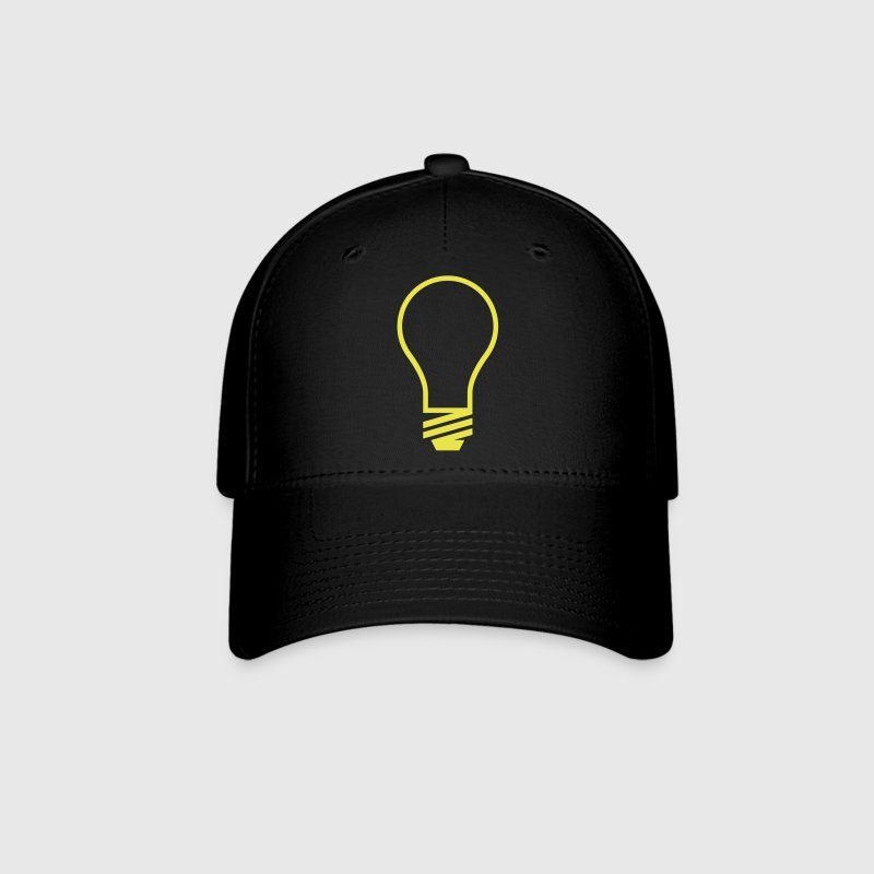 Light Bulb VECTOR - Baseball Cap