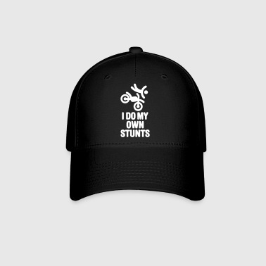 I do my own stunts - motocross off-road - Baseball Cap