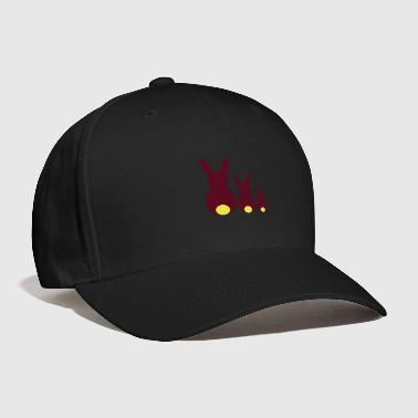 three easter rabbits - Baseball Cap