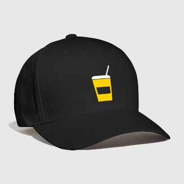 softdrink - drink - drinking straw - Baseball Cap