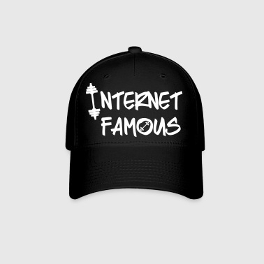 Internet Famous Baseball Hat white writing - Baseball Cap