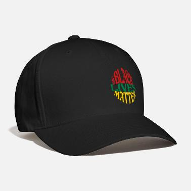 Black Lives Matter Black Lives Matter, 3 Color Vector - Baseball Cap