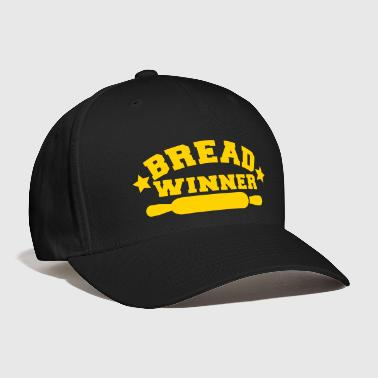 bread winner rolling pin - Baseball Cap