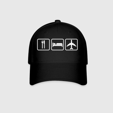 Eat Sleep Fly - Baseball Cap