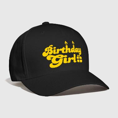 birthday girl new with present - Baseball Cap
