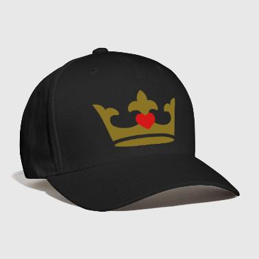 crown - heart - Baseball Cap