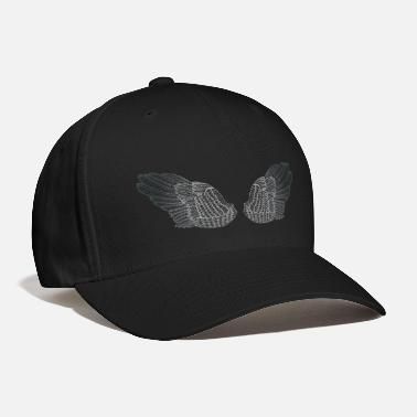 Guardian Angel Silver Angel Wings - Baseball Cap