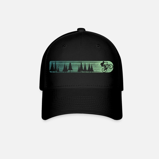 Bike Caps - mountain bike - Baseball Cap black