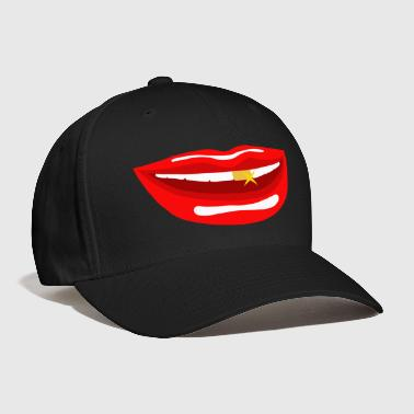 Mouth mouth - Baseball Cap