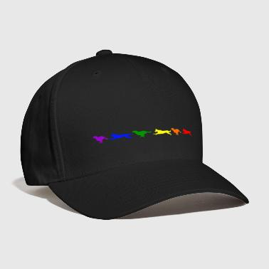 Motion Malinois in Motion- Rainbow - Baseball Cap