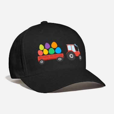 Sunday Easter Tractor - Baseball Cap