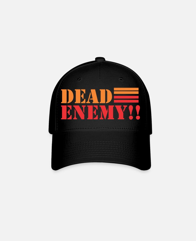 Cartridge Caps & Hats - dead enemy - Baseball Cap black