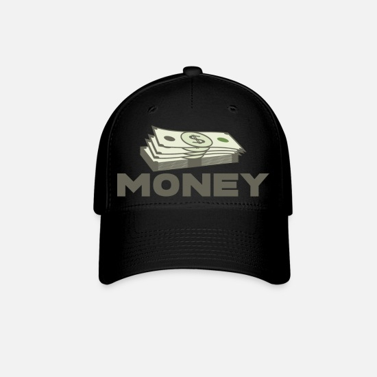 Sign Caps - MONEY - Baseball Cap black