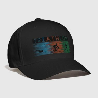 Medal Triathlon running swimming bike Duathlon - Baseball Cap