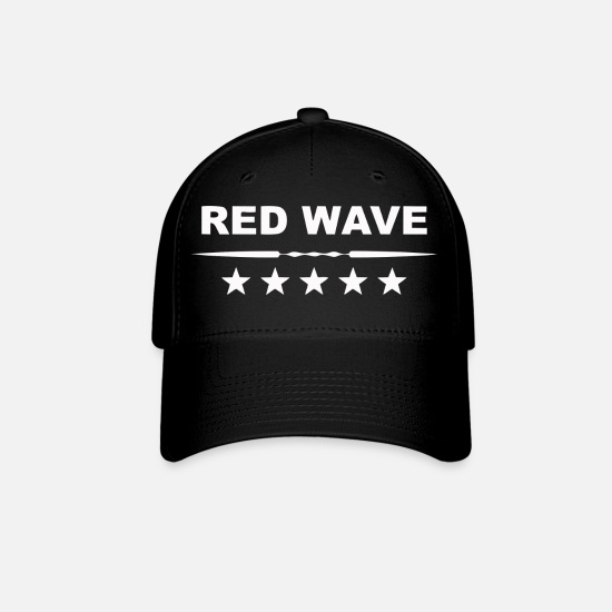 Red Caps - Red Wave - Baseball Cap black