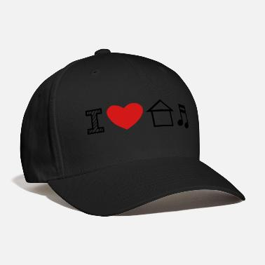 House I Love House Music - Baseball Cap