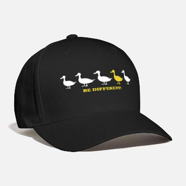 Funny Sayings Be different! funny saying sayings gift - Baseball Cap