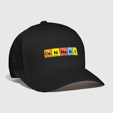 Periodic Table Cannabis Periodic Table Chemistry - Baseball Cap