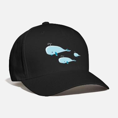 Group whale group - Baseball Cap