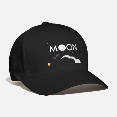 Spaceship Moon Spaceship - Baseball Cap