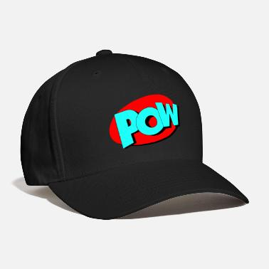 Comic pow in Comic Style - Baseball Cap