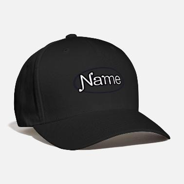 Name Tag NAME - Baseball Cap
